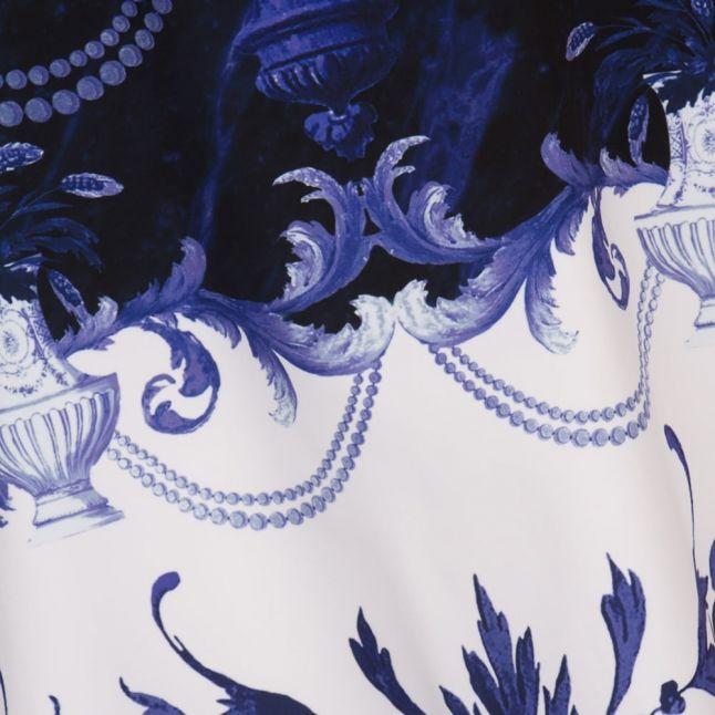 Womens Dark Blue Molliat Persian Blue Dress