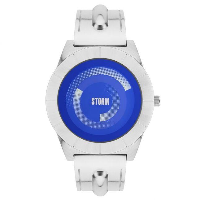 Mens Lazer Blue Dial Silver Dynamix Watch