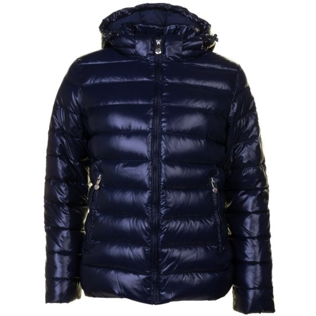Womens Amiral Spoutnic Shiny Hooded Jacket