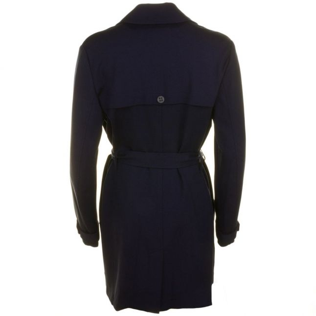 Womens Dark Blue Odenimy Trench Coat