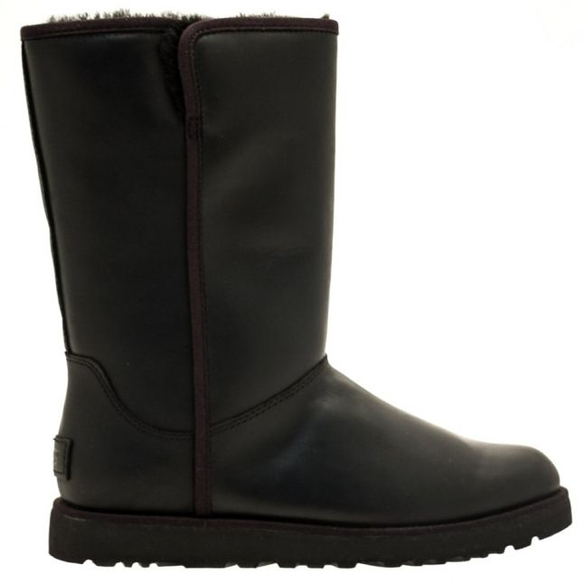 Womens Black Michelle Leather Boots
