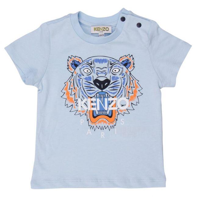 Baby Light Blue Tiger 7 S/s Tee Shirt