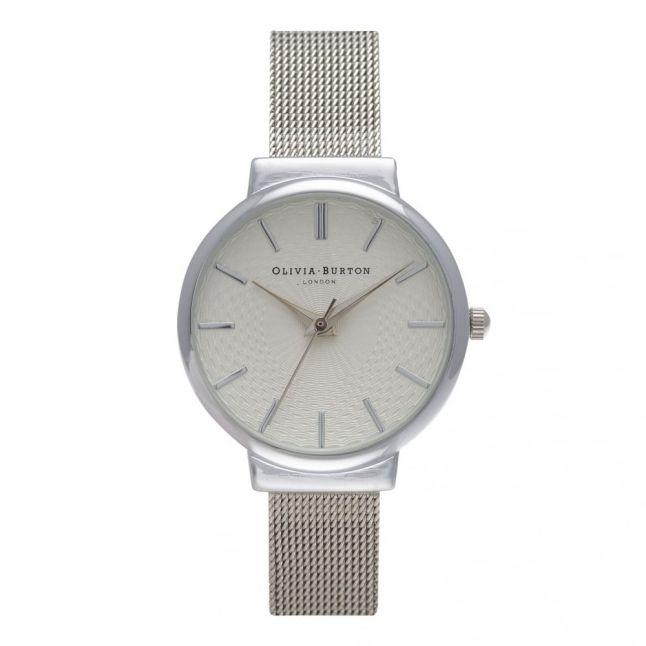 Silver Mesh Hackney Watch