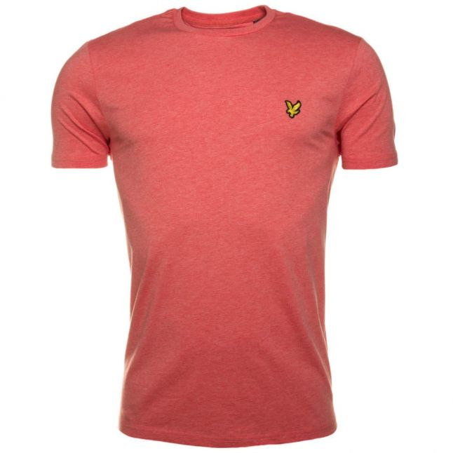 Mens Terracotta Marl Crew S/s Tee Shirt