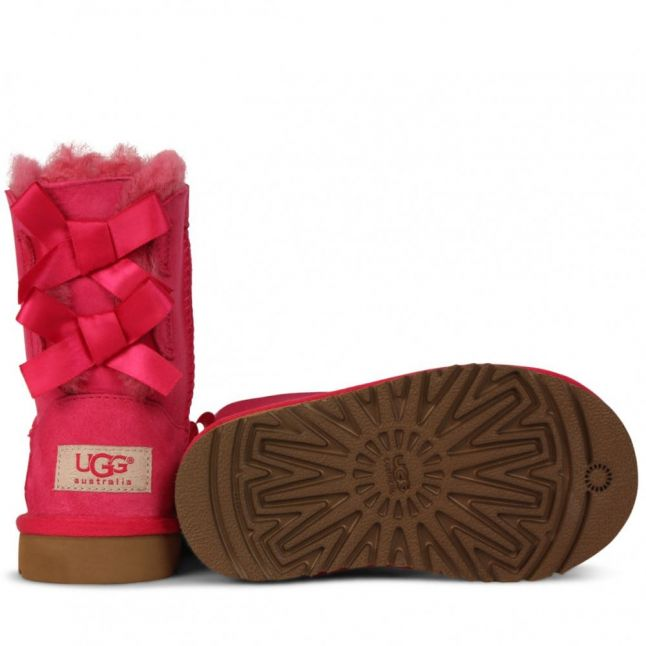 Toddler Cerise Bailey Bow Boots (6-11)