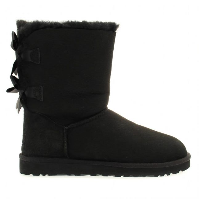 Womens Black Bailey Bow Boots