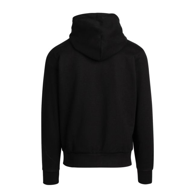 Mens Black S-Girk-Hood-K21 Sweat Top