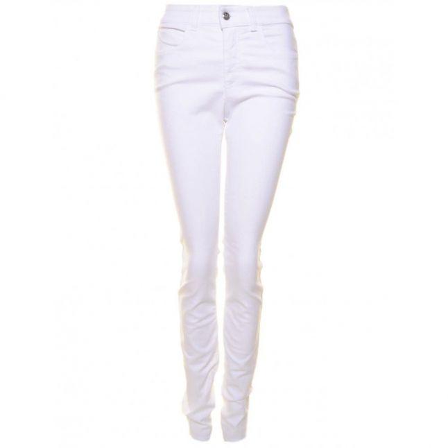 Womens White J18 Skinny Pants
