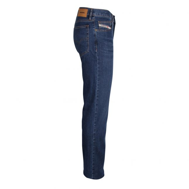Mens 009DG Wash D-Mihtry Straight Fit Jeans