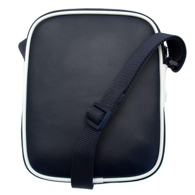 Mens Peacoat & White Cross Body Bag