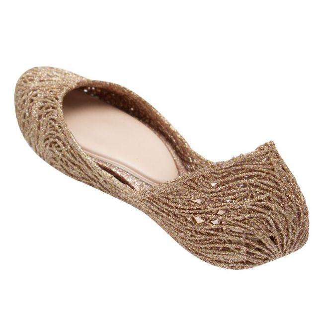 Campana Womens Rose Glitter Flow Shoes