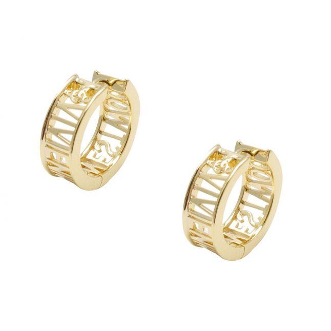 Womens Gold Westminster Earrings