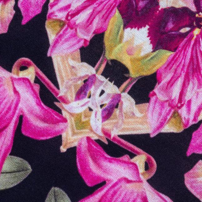 Womens Black Templi Lost Gardens S/s Tee Shirt