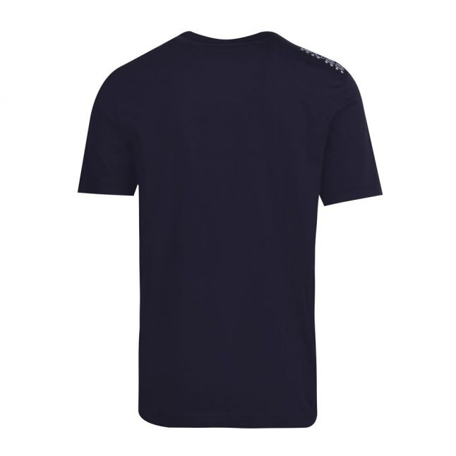 Athleisure Mens Navy Tee Small Logo S/s T Shirt