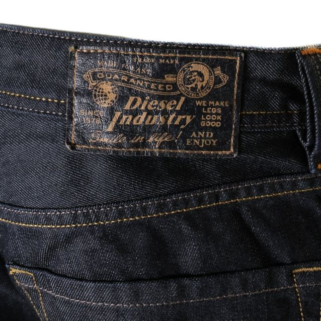 Mens 008z8 Wash Larkee Straight Fit Jeans