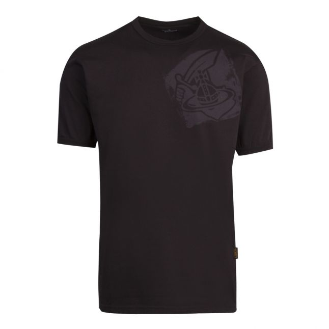 Anglomania Mens Black New Classic Arm & Cutlass S/s T Shirt