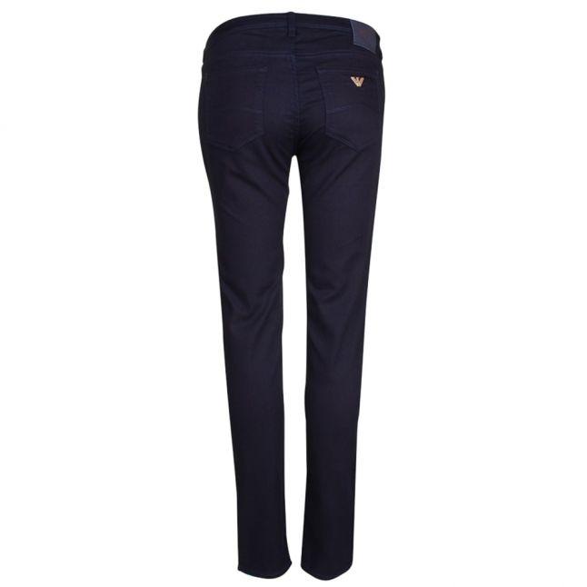 Womens Blue J28 Sateen Stretch Skinny Jeans