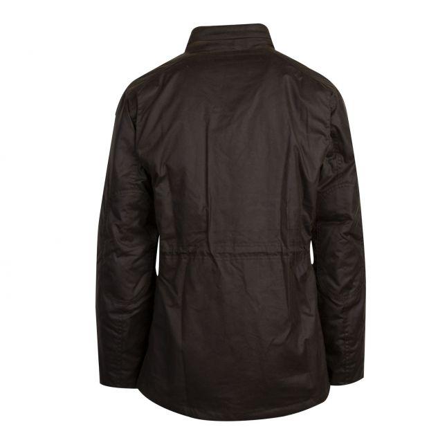 Mens Olive Sapper Waxed Jacket