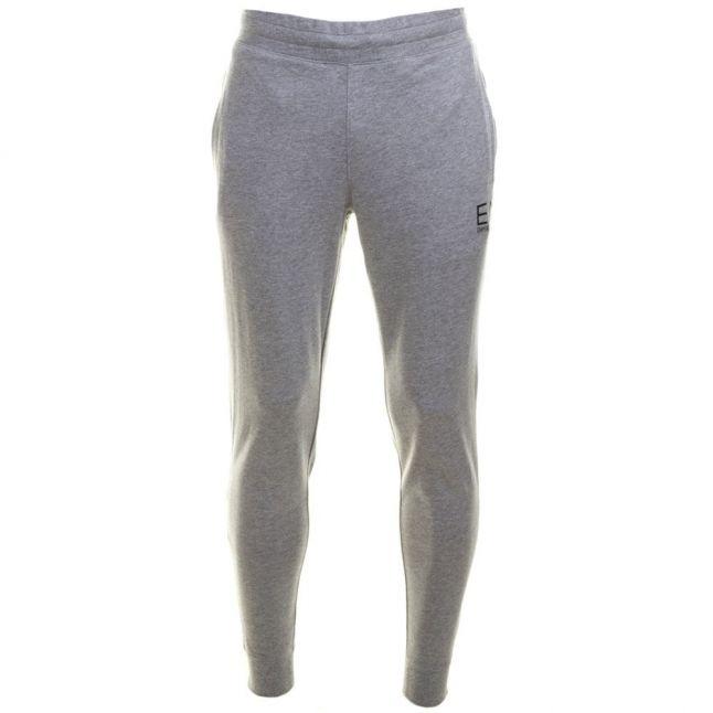 Mens Grey Training Core Identity Cuffed Track Pants