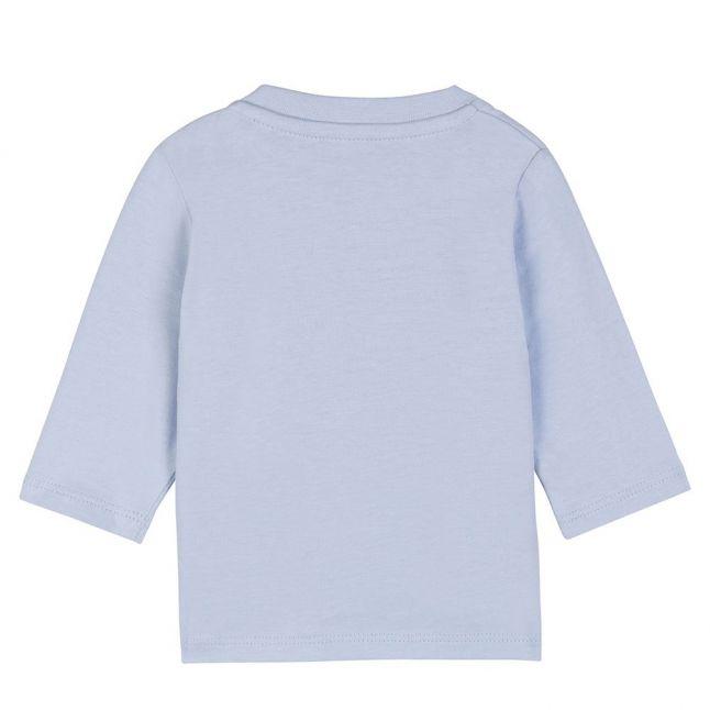 Baby Pale Blue Little Boss L/s T Shirt