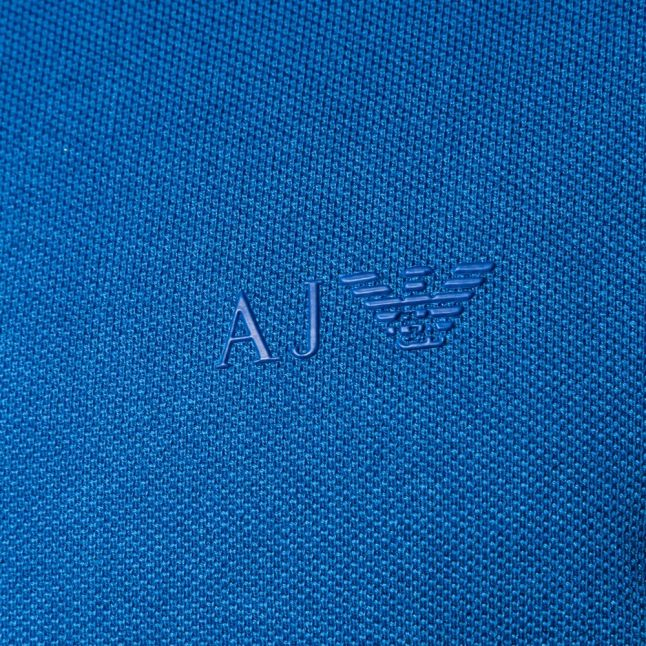 Mens Royal Muscle Fit S/s Polo Shirt