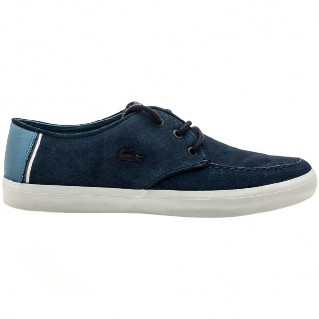 Mens Navy Sevrin Boat Shoes