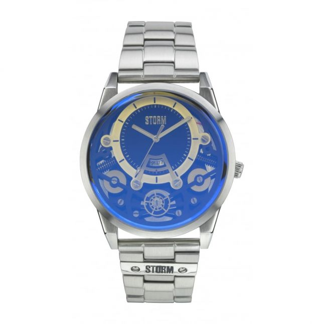 Mens Lazer Blue Mechron Watch