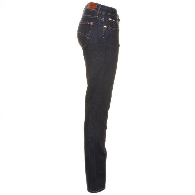 "Womens Niceville Dark Suzzy Straight 30"" Leg Jeans"