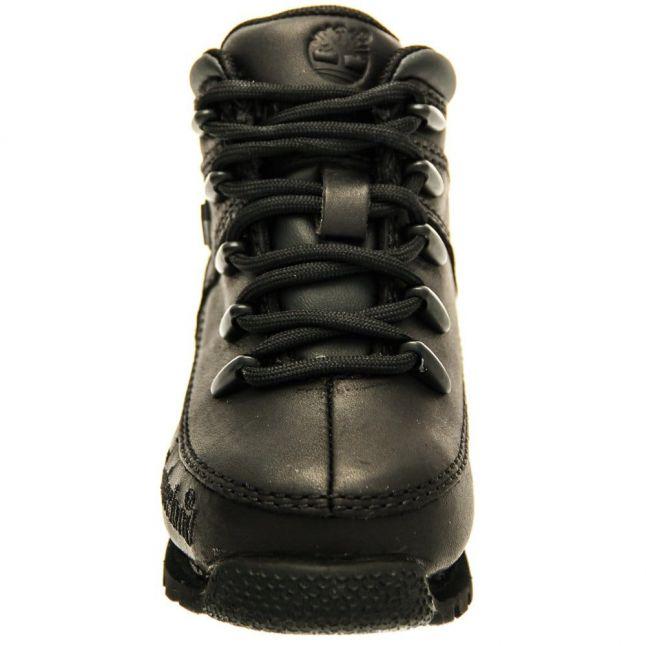 Toddler Black Euro Sprint Hiker Boots (6-11)