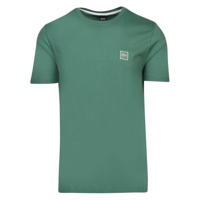 Casual Mens Green Tales S/s T Shirt