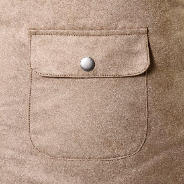 Womens Soft Camel Vicamina Skirt