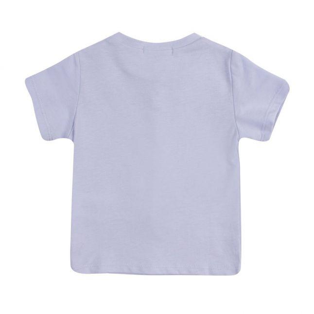 Baby Pale Blue Little Boss S/s T Shirt