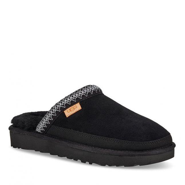 Mens Black TNL Tasman Slip-On Slippers