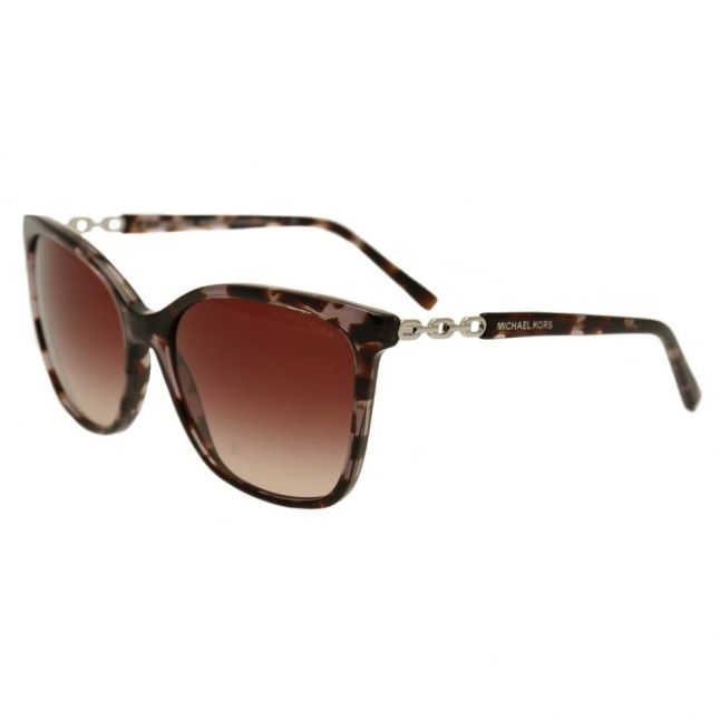 Womens Black Tortoise & Silver MK6029 Sunglasses