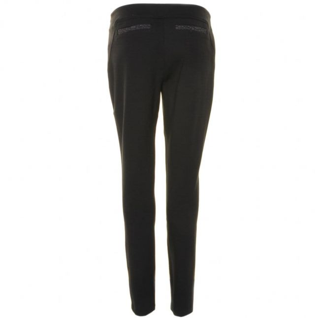 Womens Black Aamber Panel Leggings