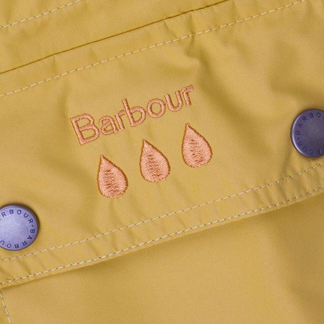 Girls Canary Yellow Cirrus Jacket