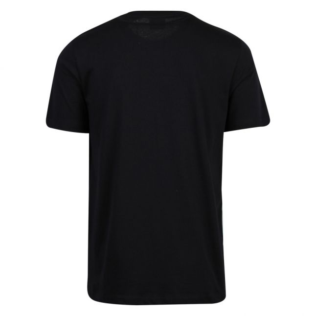 Mens Dark Navy Abstract PS Logo S/s T Shirt