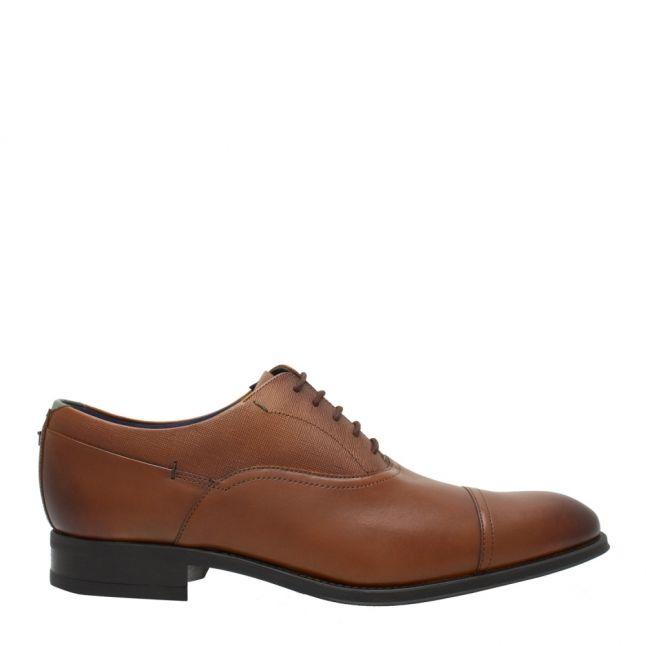 Mens Tan Sittab Derby Shoes