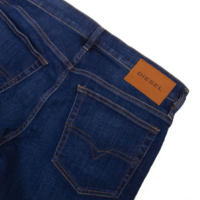 Mens 009NN Wash D-Mihtry Straight Fit Jeans
