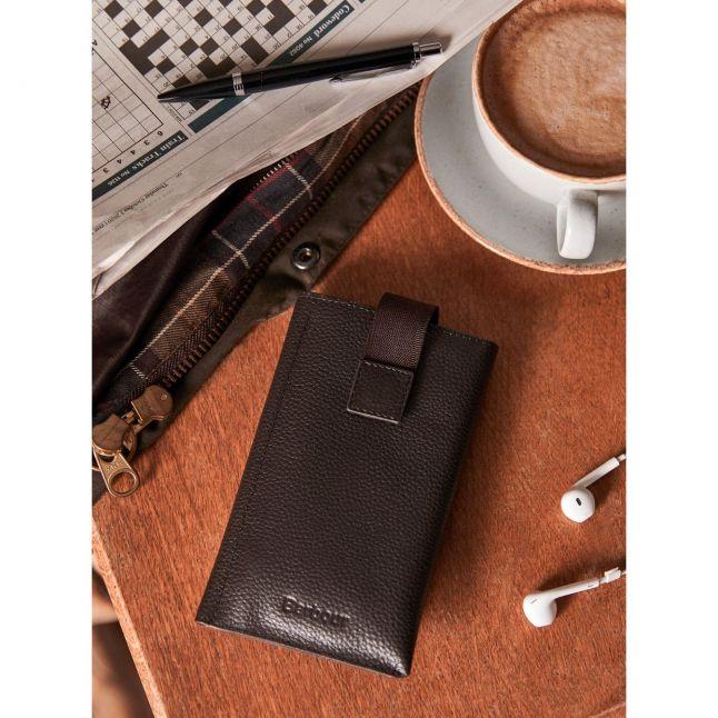 Mens Dark Brown Amble Phone Wallet