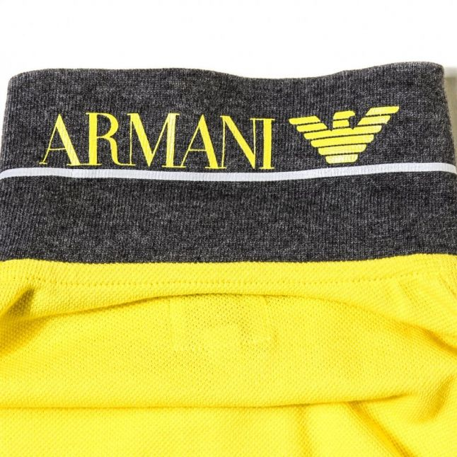 Boys Yellow Tipped S/s Polo Shirt (10yr+)