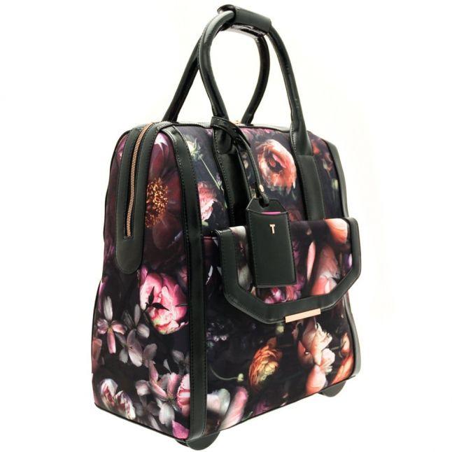Womens Mid Grey Shaniya Shadow Floral Travel Bag