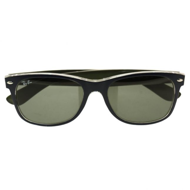 Blue & Military Green RB2132 New Wayfarer Sunglasses