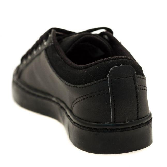 Child Black Straighset Trainers (10-1)