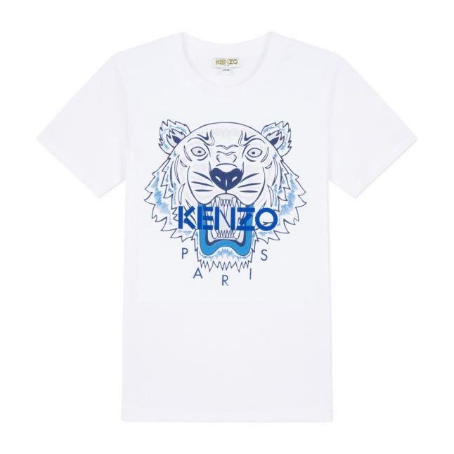 Junior Optic White Tiger S/s T Shirt