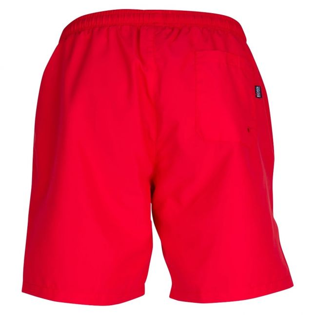 Boss Mens Bright Red Seabream Swim Shorts
