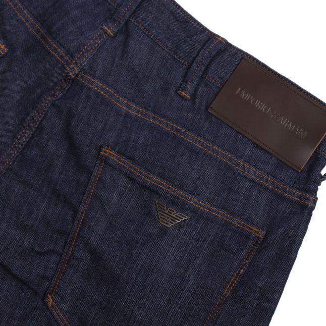 Mens Dark Blue J06 Slim Fit Jeans