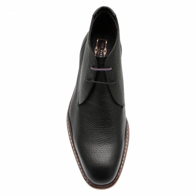 Mens Black Corans Ankle Boots