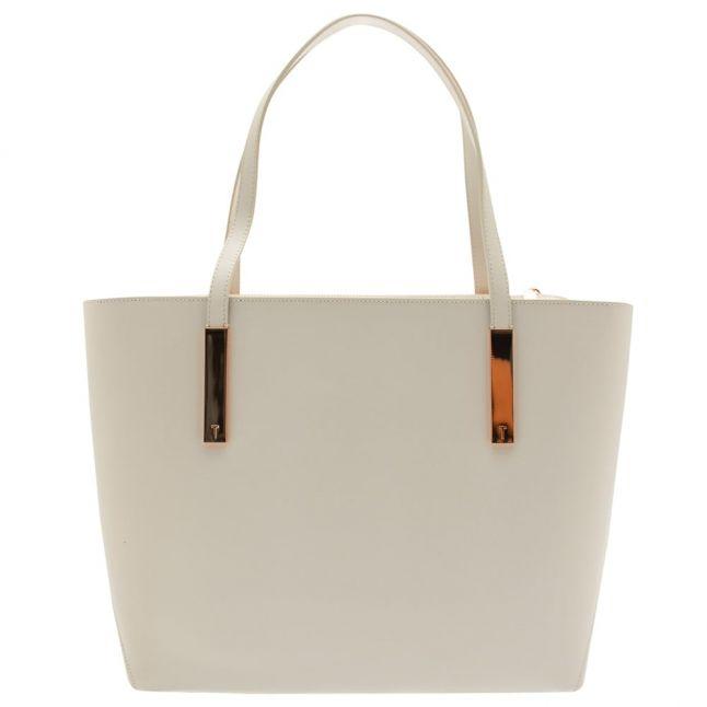 Womens Light Grey Poppey Large Shopper Bag