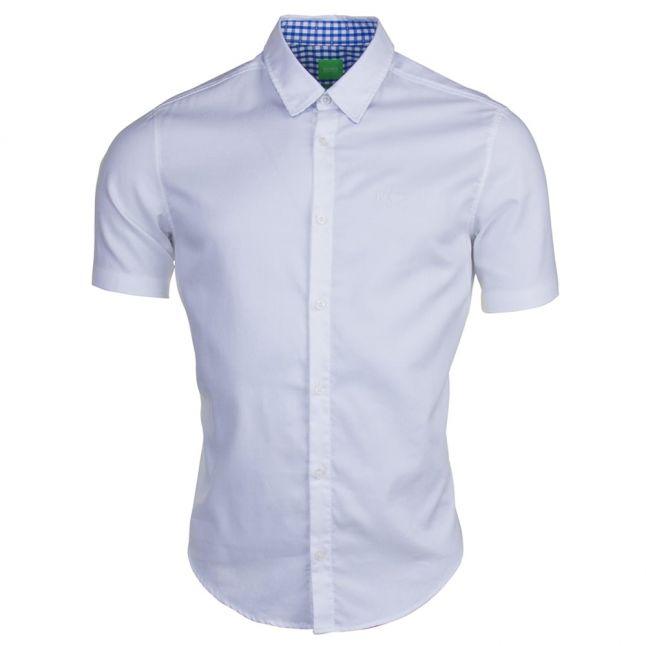 Mens White C-Busterino S/s Shirt